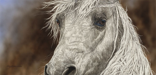 Judy Larson - The Gift -  LIMITED EDITION PRINT Published by the Greenwich Workshop