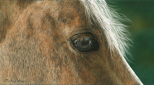 Judy Larson - Golden -  SMALLWORK CANVAS EDITION Published by the Greenwich Workshop