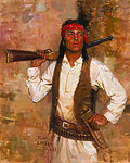 CHIRICAHUA SCOUT&lt;br&gt; LIMITED EDITION PRINT