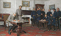 SURRENDER AT APPOMATTOX&lt;br&gt; LIMITED EDITION PRINT