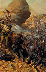 THE BATTLE OF THE CRATER&lt;br&gt; LIMITED EDITION PRINT