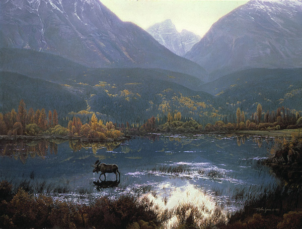 Stephen Lyman - CANADIAN AUTUMN -  LIMITED EDITION PRINT Published by the Greenwich Workshop