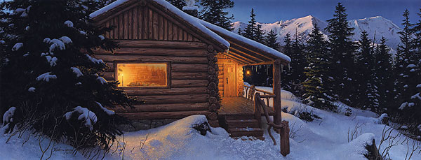 Stephen Lyman - WILDERNESS WELCOME -  LIMITED EDITION PRINT Published by the Greenwich Workshop