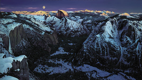 Stephen Lyman - YOSEMITE ALPENGLOW -  LIMITED EDITION PRINT Published by the Greenwich Workshop