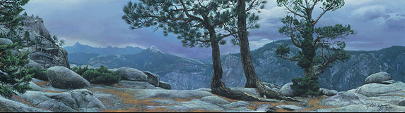 Stephen Lyman - Yosemite Landscape -  LIMITED EDITION CANVAS Published by the Greenwich Workshop
