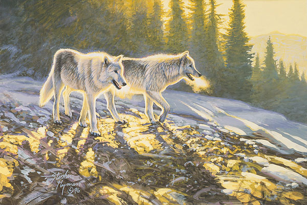 Stephen Lyman - Companions -  SMALLWORK CANVAS EDITION Published by the Greenwich Workshop