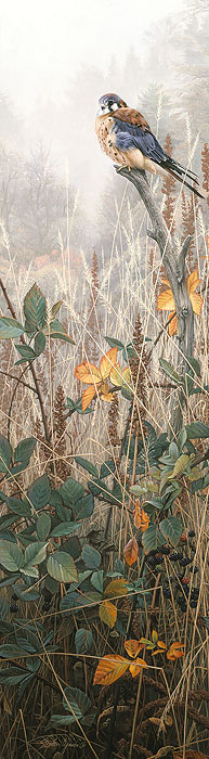 Stephen Lyman - Among the Wild Brambles -  ANNIVERSARY CANVAS EDITION Published by the Greenwich Workshop