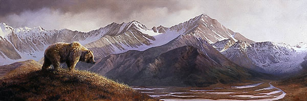 Bonnie Marris - ABOVE THE GLACIER -  LIMITED EDITION PRINT Published by the Greenwich Workshop