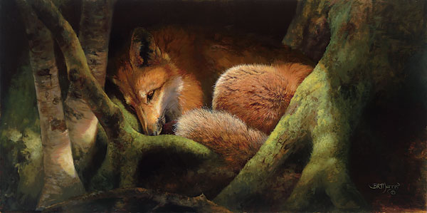Bonnie Marris - Hide and Seek with the Sun -  LIMITED EDITION CANVAS Published by the Greenwich Workshop