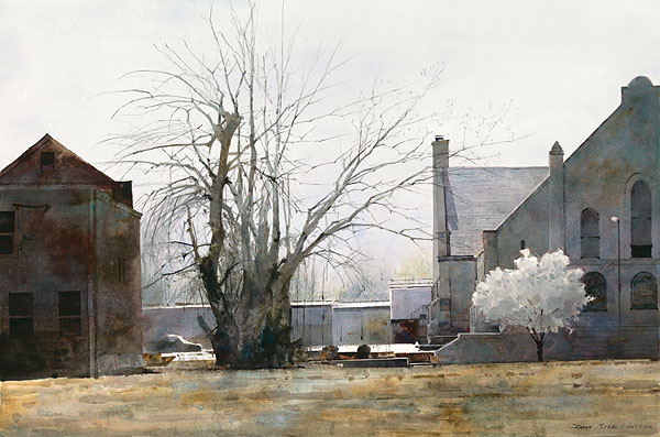 Dean Mitchell - Early Spring in St. Louis -  LIMITED EDITION PRINT Published by the Greenwich Workshop