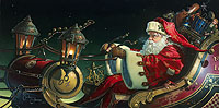 Father Christmas: The Sleigh Ride<br> LIMITED EDITION CANVAS