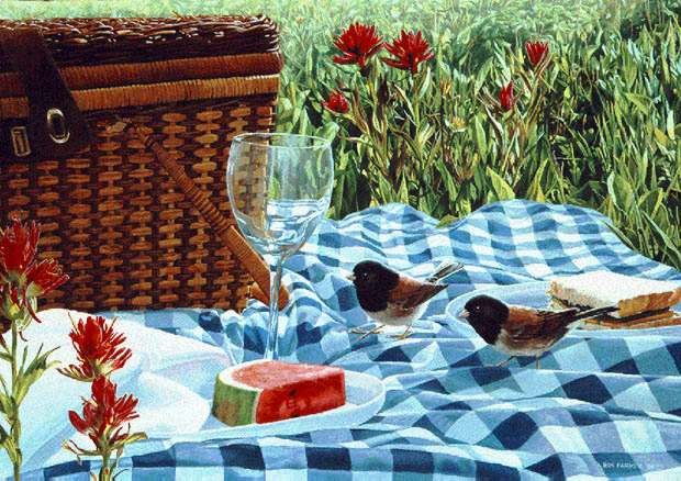 Ron Parker - SUMMER MEMORIES -  LIMITED EDITION PRINT Published by the Greenwich Workshop