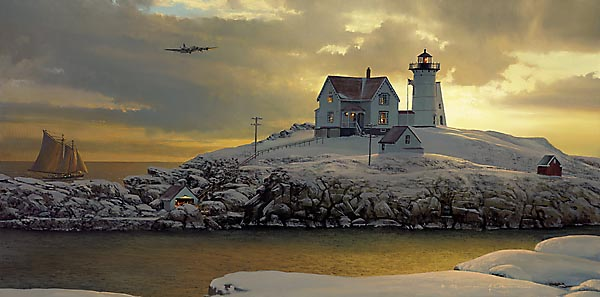 William S. Phillips - CAPE NEDDICK DAWN -  LIMITED EDITION PRINT Published by the Greenwich Workshop