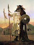 LEGENDS OF THE MANDAN<br> LIMITED EDITION PRINT