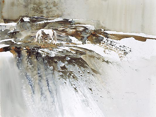 Mort Solberg - EARLY SNOW -  LIMITED EDITION PRINT Published by the Greenwich Workshop