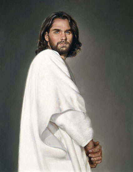 Liz Lemon Swindle - Jesus -  LIMITED EDITION CANVAS Published by the Greenwich Workshop