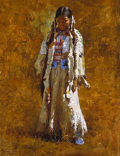 Howard Terpning - SUNDAY BEST -  LIMITED EDITION PRINT Published by the Greenwich Workshop