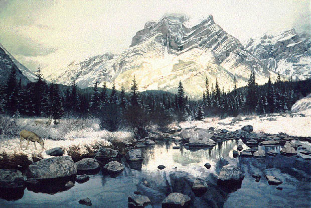 Brent Townsend - MOUNTAIN LIGHT -  LIMITED EDITION PRINT Published by the Greenwich Workshop
