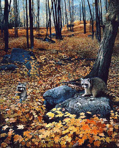 Brent Townsend - AUTUMN HILLSIDE -  LIMITED EDITION PRINT Published by the Greenwich Workshop