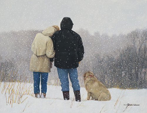 John Weiss - Tender Moments -  LIMITED EDITION CANVAS Published by the Greenwich Workshop