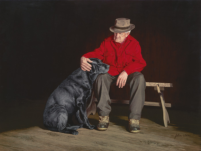 John Weiss - Forever Friends -  LIMITED EDITION CANVAS Published by the Greenwich Workshop