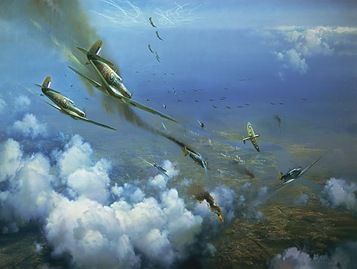 Frank Wootton - THE BATTLE OF BRITAIN -  LIMITED EDITION PRINT Published by the Greenwich Workshop