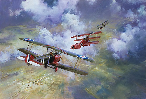 LAST COMBAT OF THE RED BARON<br> LIMITED EDITION PRINT