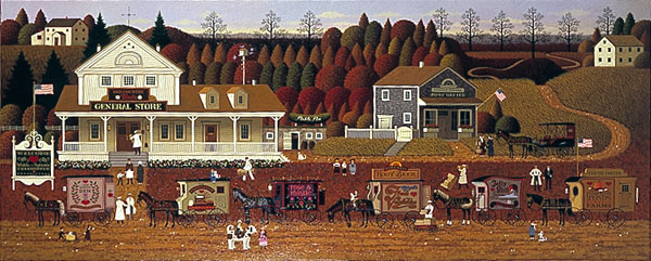Charles Wysocki - STORIN UP -  LIMITED EDITION PRINT Published by the Greenwich Workshop
