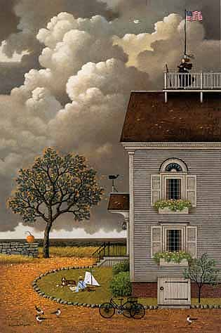 Charles Wysocki - YEARNING FOR MY CAPTAIN -  LIMITED EDITION PRINT Published by the Greenwich Workshop