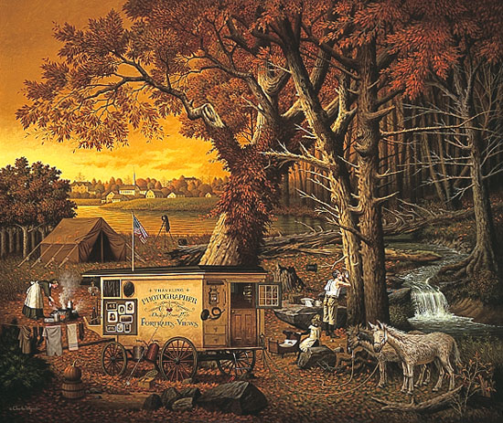 Charles Wysocki - THE MEMORY MAKER -  LIMITED EDITION PRINT Published by the Greenwich Workshop