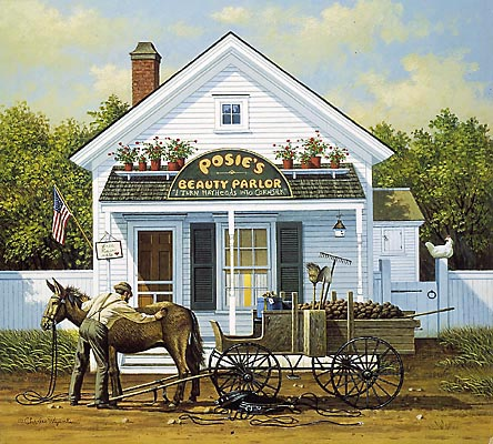 Charles Wysocki - BEAUTY AND THE BEAST -  LIMITED EDITION PRINT Published by the Greenwich Workshop