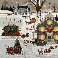 Cape Cod Christmas&lt;br&gt; LIMITED EDITION CANVAS