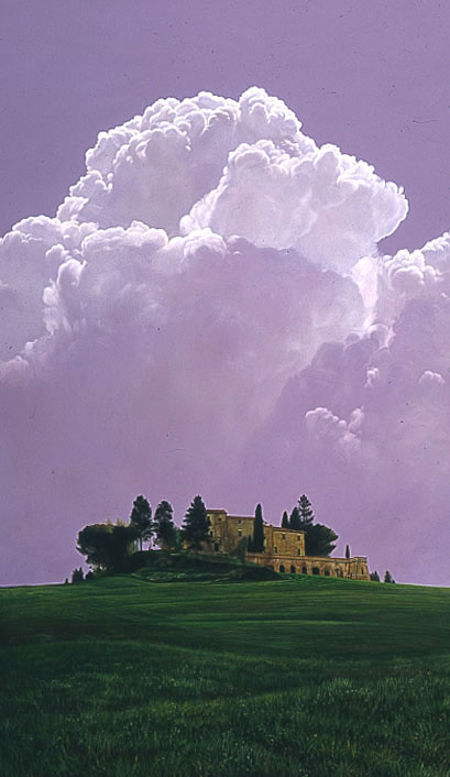 Chris Young - TUSCAN CLOUD -  LIMITED EDITION PRINT Published by the Greenwich Workshop