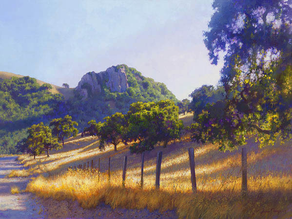 June Carey - Pacheco Pass -  LIMITED EDITION CANVAS Published by the Greenwich Workshop