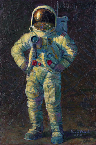 Alan Bean - Feelin´ Fine -  OPEN EDITION PRINT Published by the Greenwich Workshop