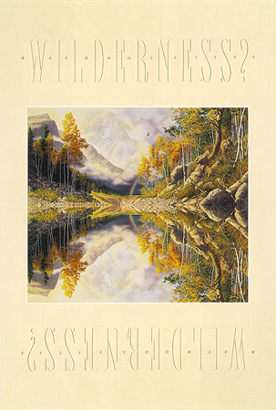 Bev Doolittle - WILDERNESS! WILDERNESS? -  POSTER Published by the Greenwich Workshop