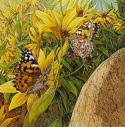 Bev Doolittle - PAINTED LADIES -  OPEN EDITION PRINT Published by the Greenwich Workshop