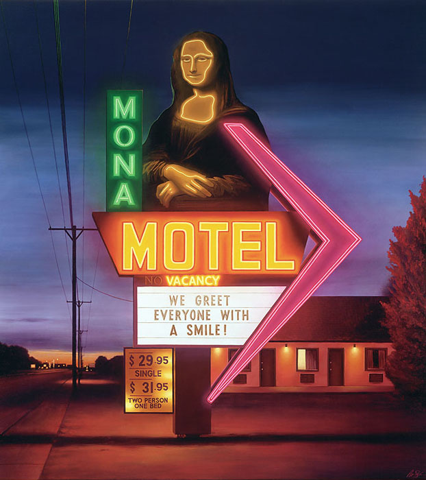 Ben Steele - Mona Motel -  OPEN EDITION CANVAS Published by the Greenwich Workshop