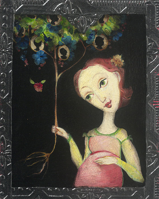 Cassandra Barney - The Family Tree -  OPEN EDITION CANVAS Published by the Greenwich Workshop