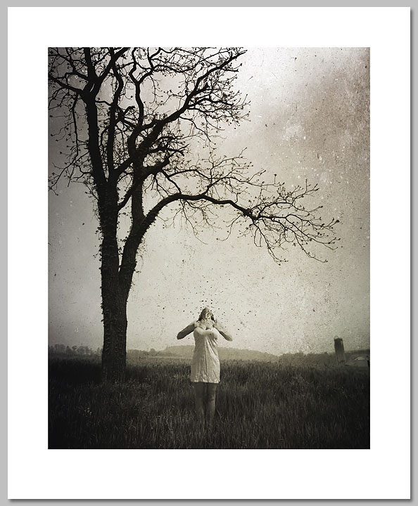 Nikki Pinkham - Losing Everything -  OPEN EDITION PRINT Published by the Greenwich Workshop