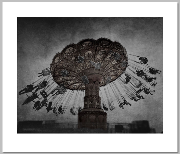 Jim Perdue - Dark Carnival -  OPEN EDITION PRINT Published by the Greenwich Workshop