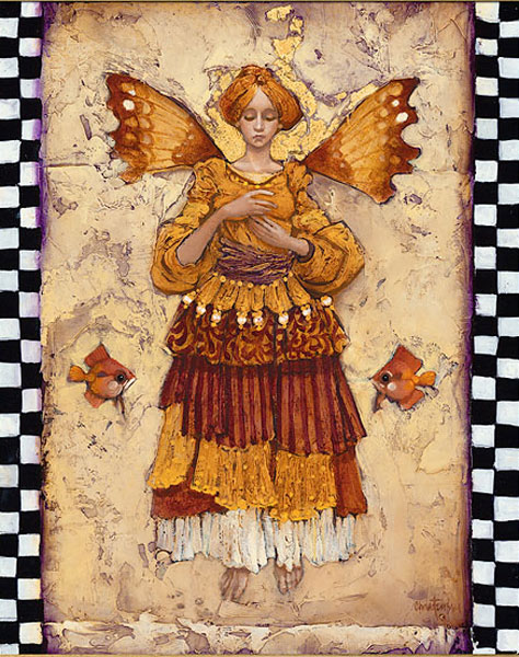 James C. Christensen - Grace -  OPEN EDITION CANVAS Published by the Greenwich Workshop