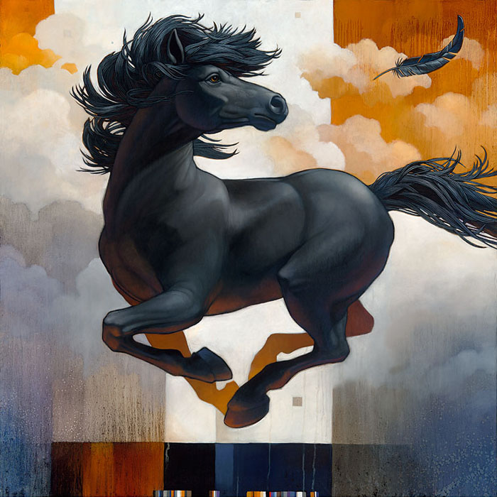 Craig Kosak - Pegasus Inspiration -  OPEN EDITION CANVAS Published by the Greenwich Workshop