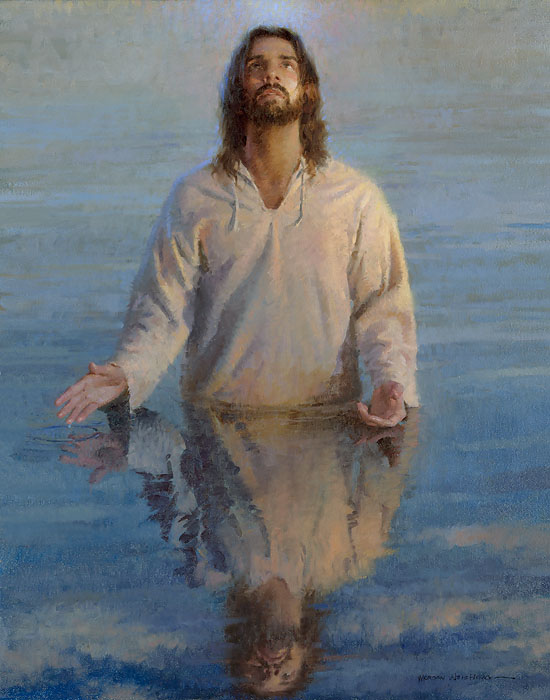Morgan Weistling - Reflection of God -  OPEN EDITION CANVAS Published by the Greenwich Workshop