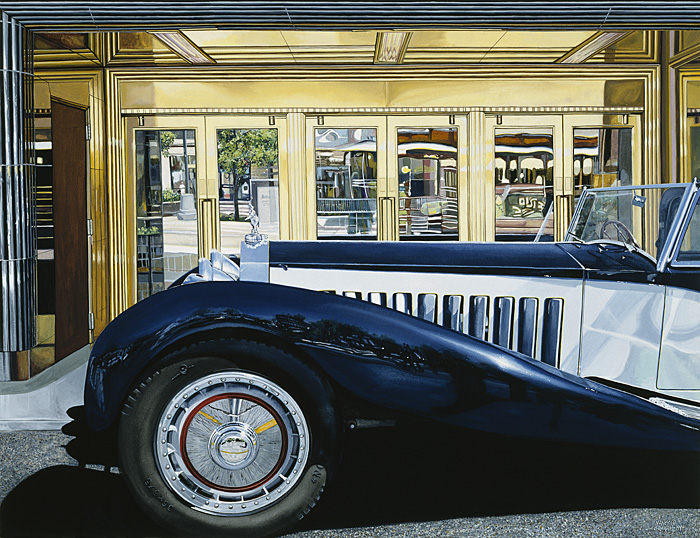 Nancy Graham - Joske´s Bugatti -  OPEN EDITION CANVAS Published by the Greenwich Workshop