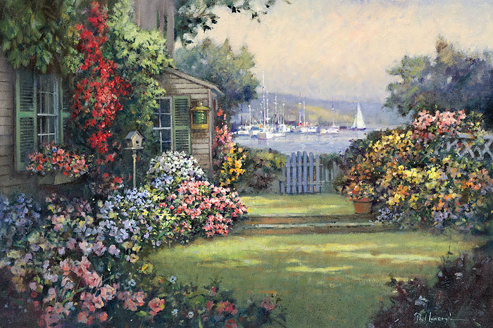 """Garden Cove"" by Paul Landry"