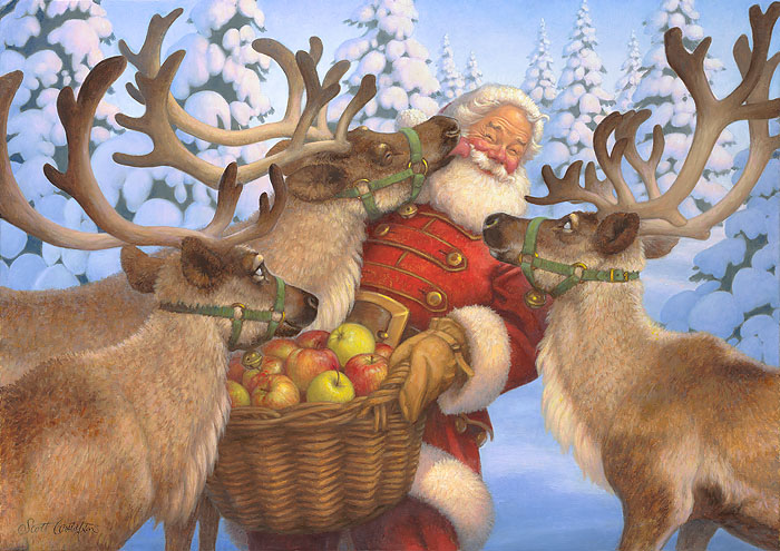 """Santa's Treat"" by Scott Gustafson"