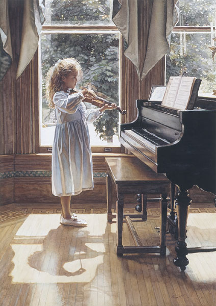Steve Hanks - Beginning -  OPEN EDITION PRINT Published by the Greenwich Workshop
