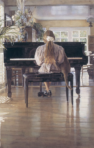 Steve Hanks - Duet -  OPEN EDITION PRINT Published by the Greenwich Workshop