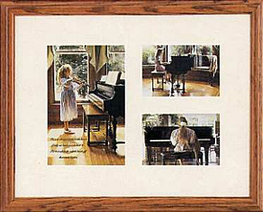 Steve Hanks - Music in the Heart -  OPEN EDITION PRINT Published by the Greenwich Workshop